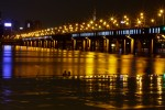 Han river at night. Seoull.  2010.